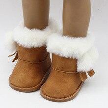 Kawaii BJD куклы Интимные аксессуары Снегоступы модные зимние сапоги для 18 дюймов Кукла Игрушечные лошадки для Обувь для девочек Рождественский Подарок детская Игрушечные лошадки