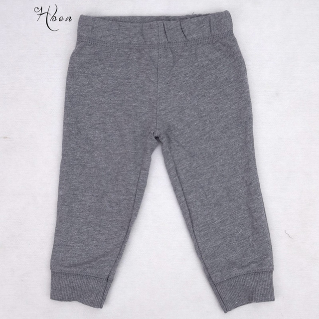 246f50984063a 2019 Kids Brand Dark Gray Baby Boys Pants Clothes Thick Thread Mouth Baby  Leggings Baby Children's Wear Long trousers Clothing