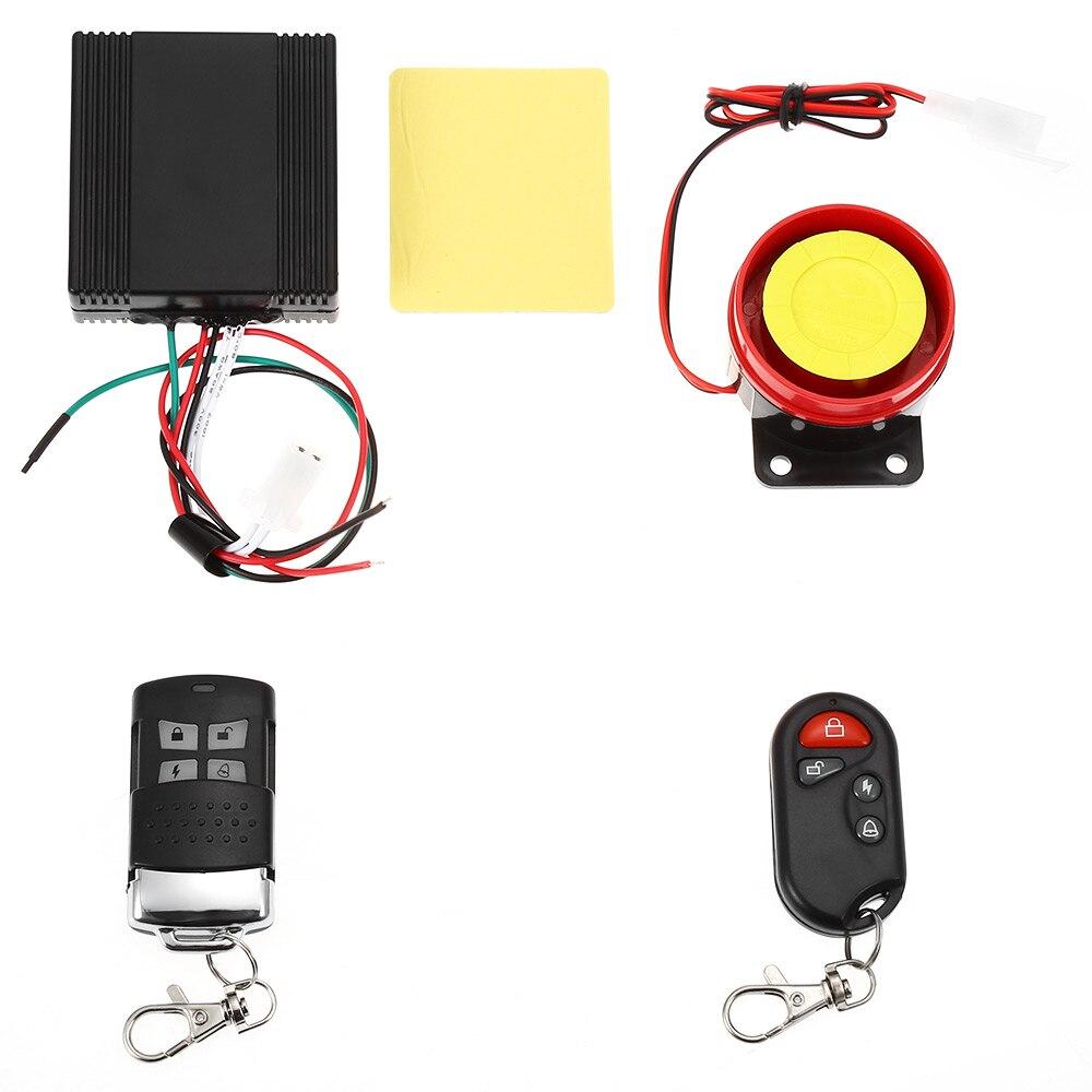 Prix pour Étanche Moto Anti-vol de Sécurité Télécommande Conduite D'alarme Système Installation Facile Anti-ingérence Professionnel