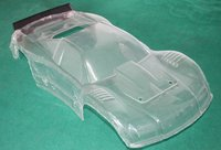 Baja 5t clear body shell cover for HPI KM ROVAN