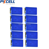 10pcs 9V battery ER9v 1200mah dry and primary battery lithium battery LiSOCl2 Batteries replace 6f22/6lr61 for smoke alarm Toys