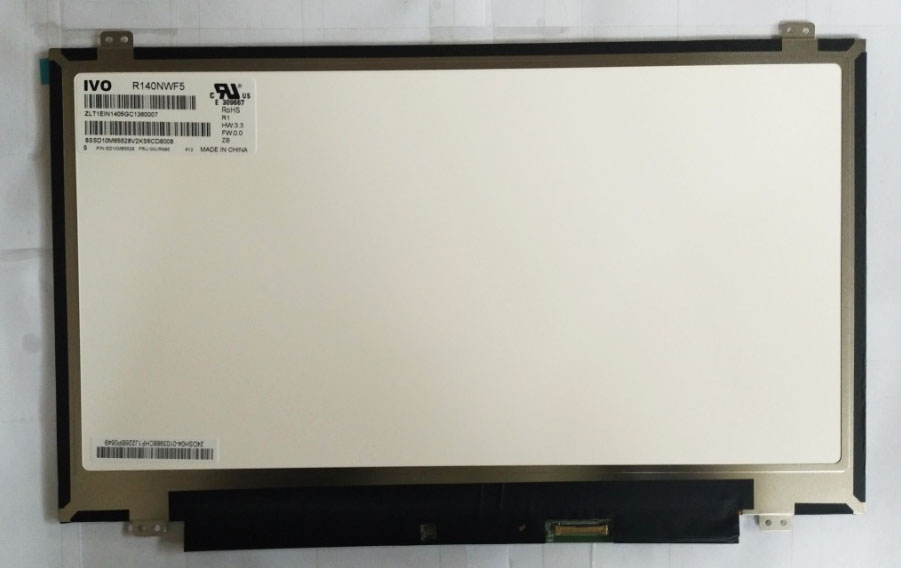 R140NWF5 R1 for Lenovo FRU 00UR895 P N SD10M65528 IVO LCD LED Display with Touch Screen