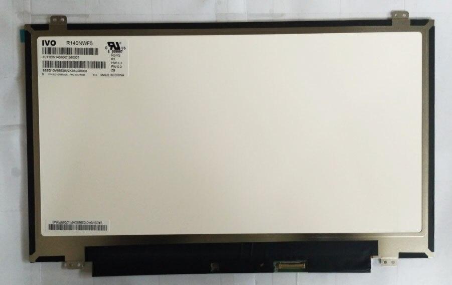 R140NWF5 R1 pour Lenovo FRU: 00UR895 P/N: SD10M65528 IVO écran LED lcd avec assemblage de numériseur d'écran tactile-in Écran LCD pour ordinateur portable from Ordinateur et bureautique on AliExpress - 11.11_Double 11_Singles' Day 1