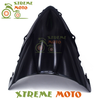 Black Plastic Motorcycle Windscreen Windshield For YZF 600 R6 2003 2004 2005 Motocross Motorbike Dirt Bike