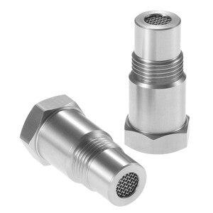 Image 4 - Yetaha 2Pcs O2 Sensor Spacers Engine Light CEL Eliminator With Mini Catalytic Converter For M18 X 1.5 Thread