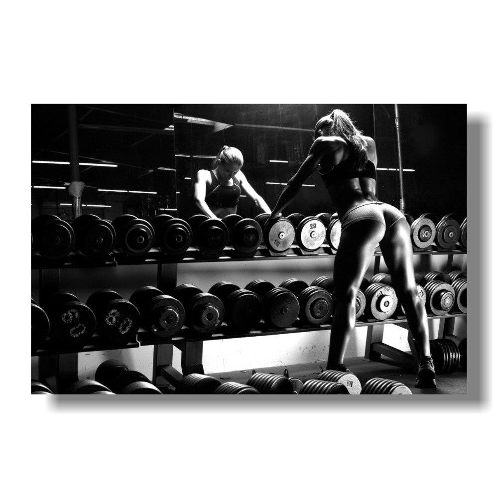 Anllela Sagra Bodybuilding Canvas Poster 12x18 24x36 inch