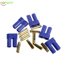 1Set 5Pairs EC5 RC Lipo Battery Connector Gold Bullet Banana Plug Male Female