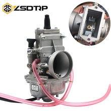 Zsdtrp mikuni tm24 tm28 tm30 tm32 tm34 tm38, carburador de deslizamento plano, carbs tm para honda cr250 for kawasaki kx125 150