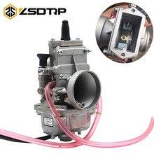 ZSDTRP Mikuni TM24 TM28 TM30 TM32 TM34 TM38 แบนสไลด์คาร์บูเรเตอร์หัวจุกTMคาร์โบไฮเดรตสำหรับHonda CR250 สำหรับKawasaki KX125 150