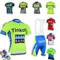 Tinkoff Pro Team Zomer Fietsen Sets Ropa Ciclismo Hoge Kwaliteit Fietsen Kleding Kit Mannen Triathlon Schaatspak Skying Bike uniform