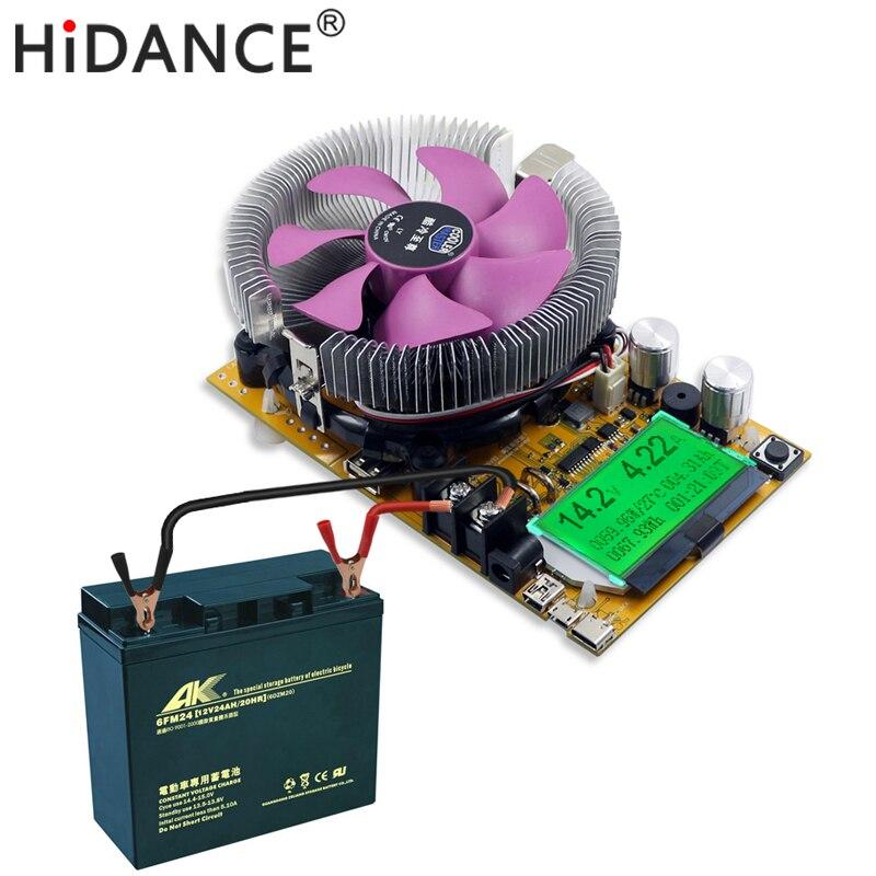 150W Digital battery capacity tester voltmeter adjustable constant current electronic load charger usb ameter meter indicator