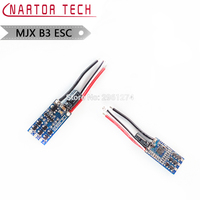 Nartor New Technique Version MJX B3 Bugs 3 2.4G RC Quadcopter Spare Parts Brushless ESC Suitable for Both New and Old Models