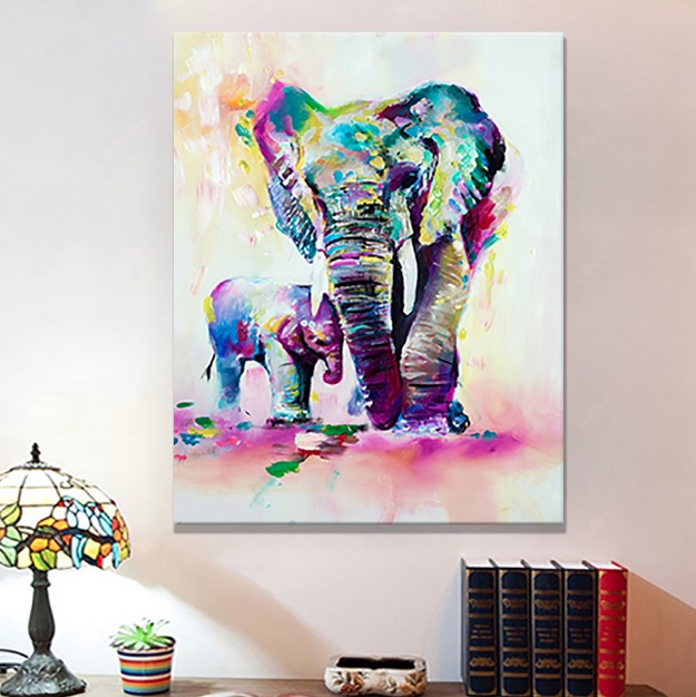 Elephant Canvas Prints