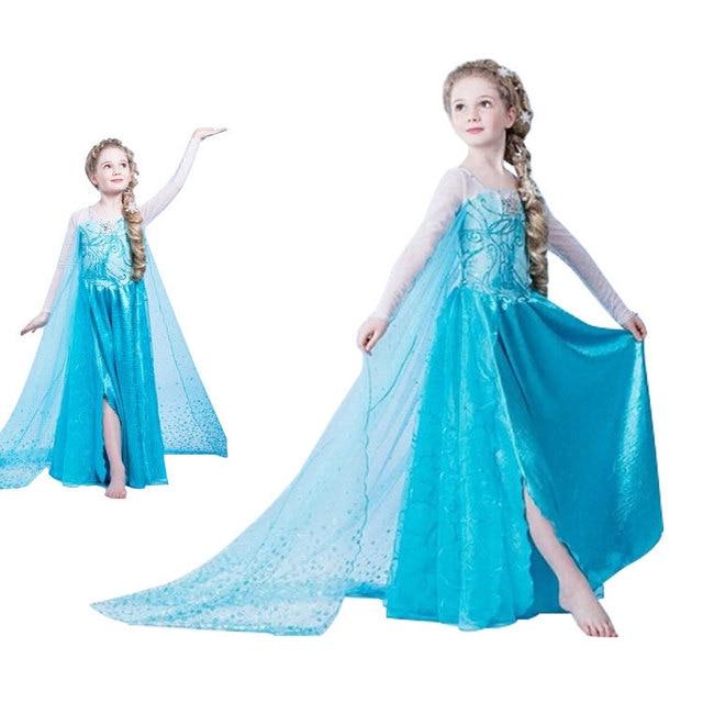 Toddler princess elsa dress toddler girl halloween costumes rapunzel ...