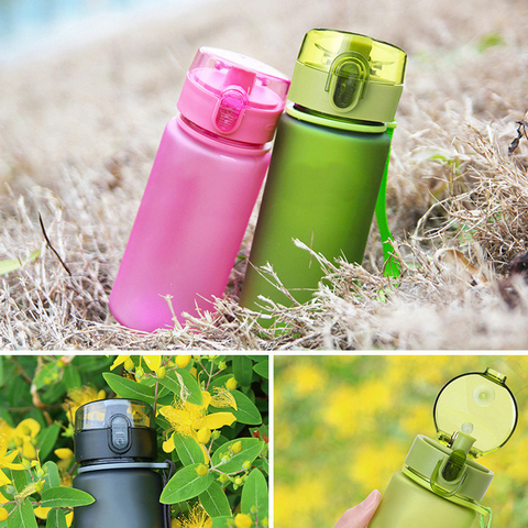 400ml/560ml BPA Free Leak Proof Sports Water Bottle High Quality Plastic Drinkware Tour Hiking Portable Climbing Water Bottles Multan