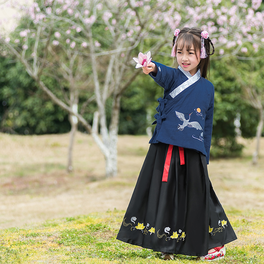 Ancient Princess Miss Hanfu Clothes Girls Folk Costume Tang Dynasty Traditional Fairy Suit National Outfit Stage Dress