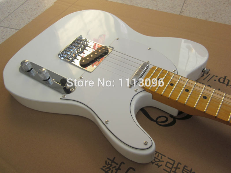 Free shipping NEW guitarra TL guitarra/white color electric guitar/guitar in chinaFree shipping NEW guitarra TL guitarra/white color electric guitar/guitar in china