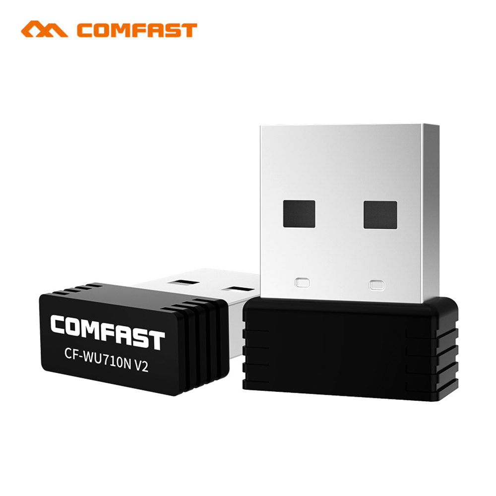 Comfast CF-WU710V2 Wireless Mini USB Wifi Adapter 802.11N 150Mbps USB2.0 Receiver Dongle MT7601 Network Card For Desktop Laptop