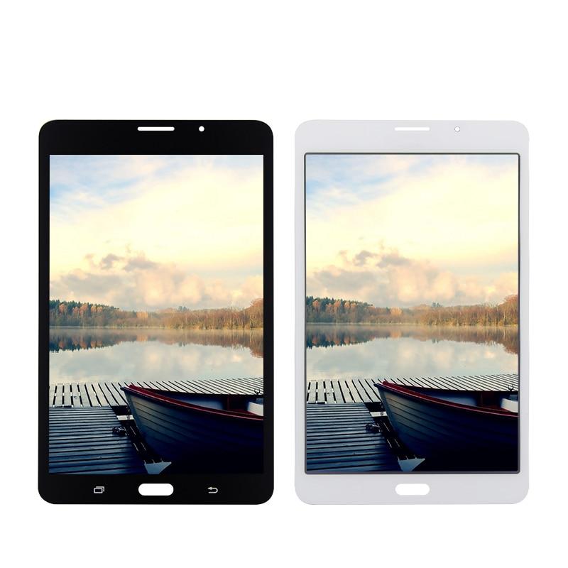 Pour Samsung Galaxy TAB Un 7.0 SM-T285 T285 Écran Tactile Digitizer Verre + LCD Assemblée D'affichage Panneau de Remplacement