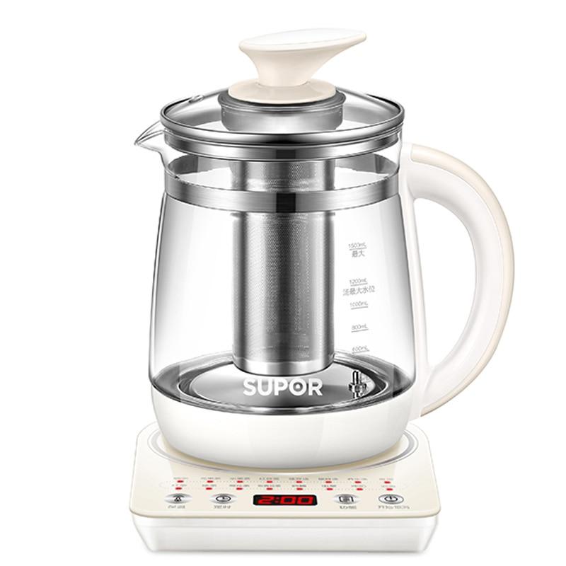 Hervidor Agua Electrico Health Pot Automatic Thickening Glass Electric Kettle Boiling Flower Tea Pot Boiling Pot Black Tea Tea 2