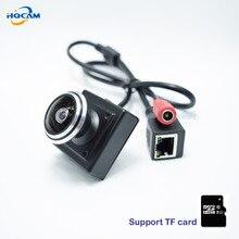 HQCAM CAMHI 720P TF card camera Mini IP Camera Home Security Camera IP kamera Indoor CCTV Camera fishe 1.78mm wide Angle lens
