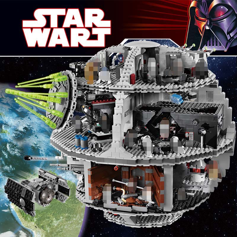 3803pcs The Second Generation Large Star Wars Sets Building Block Kits Compatible LegoINGLYS Death Star Technic Toys for Kids цена 2017