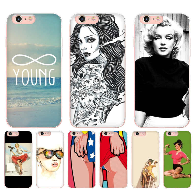 Maiyaca Sexy Wallpaper High Quality Classic High End Phone Accessories Case For Apple Iphone 8 7 6 6s Plus X 5 5s Mobile Cases