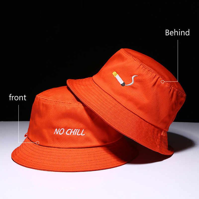 4b140e7f50d48 ... Panama Two Side Reversible unisex fashion Bucket Hat Bob Caps Hip Hop  Gorro Men Summer Sun ...