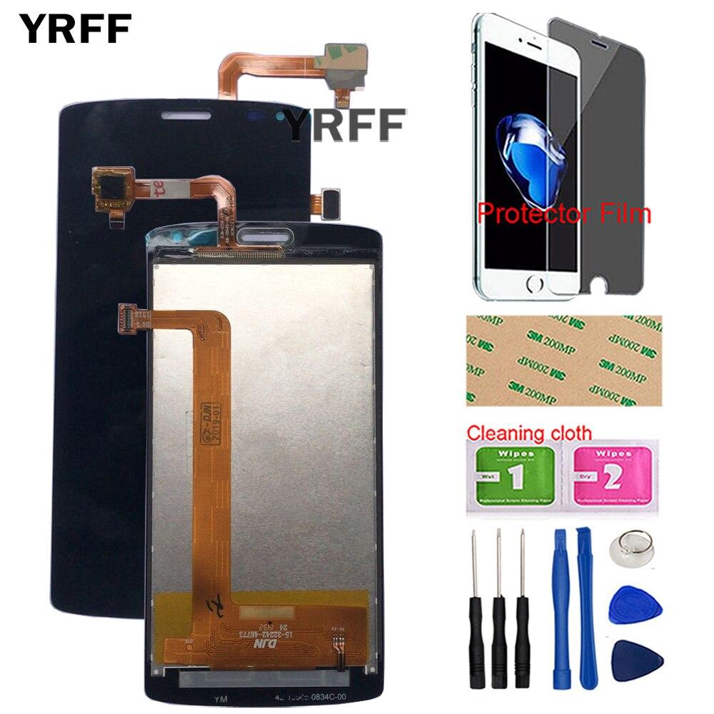 Écran d'affichage à cristaux liquides de téléphone portable pour l'écran d'affichage à cristaux liquides de mouche IQ4417 pour le Film de protecteur d'outils d'assemblage d'écran d'affichage à cristaux liquides de l'énergie 3 d'era de Fly IQ4417