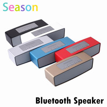 Hot Sales caixa de som Bluetooth Speaker Stereo font b Audio b font Receiver Mini Wireless