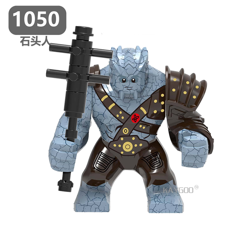 Single Sale Building Blocks Avengers 4 End Game Space Korg Iron Monger Hulk Action Figures For Children Model Gift Toys XH 1050