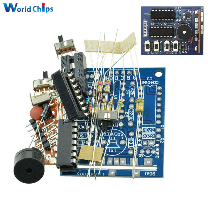 16 Music Box 16 Sound Box BOX-16 16-Tone Box Electronic Module DIY Kit DIY Parts Components Accessory Kits Board