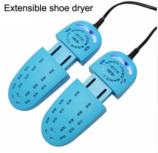 Sèche-chaussures Pour Cuire Chaussures Pieds Déodorant Extensible UV Chaussures Stérilisation Télescopique Section Séchage Chauffe de chauffage