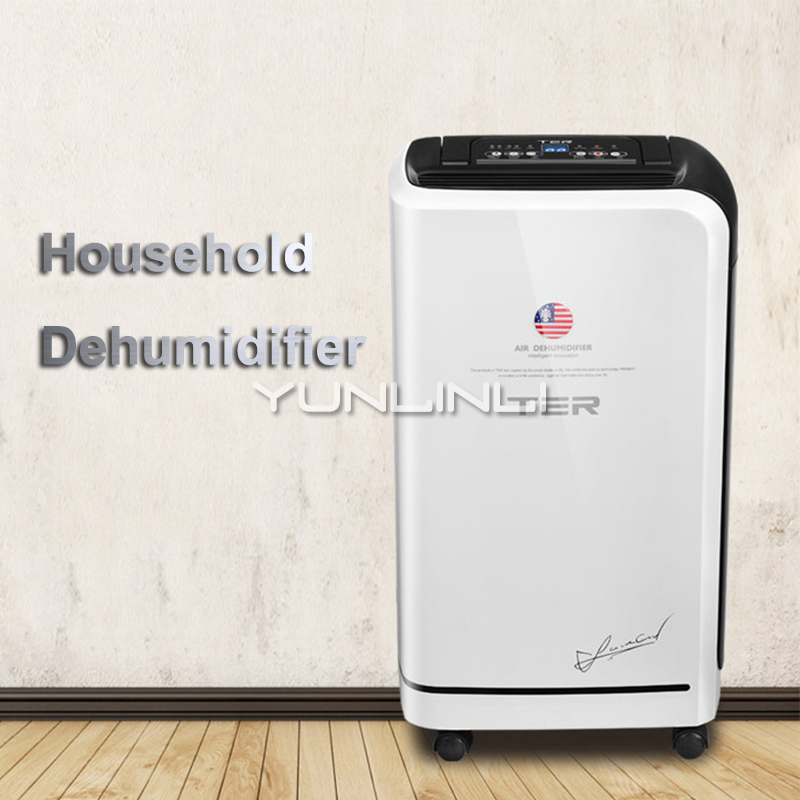 Dehumidifier Household Clothes Dryer&Air Purification Drying Machine 10L/day Moisture Absorbing Machine For Home Using T-CS10 dmwd electric cloth dryer mini moisture absorbing air dehumidifier household spiral garment warm wind clothes drying machine eu