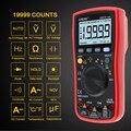 AN870 Автоматический диапазон цифровой прецизионный мультиметр True-RMS 19999 отсчетов NCV Омметр AC/DC Напряжение Амперметр транзисторный тестер