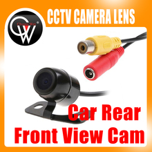 Free Shipping Car Rear Front View Cam Wide Angle Reversing Parking Security Camera Waterproof
