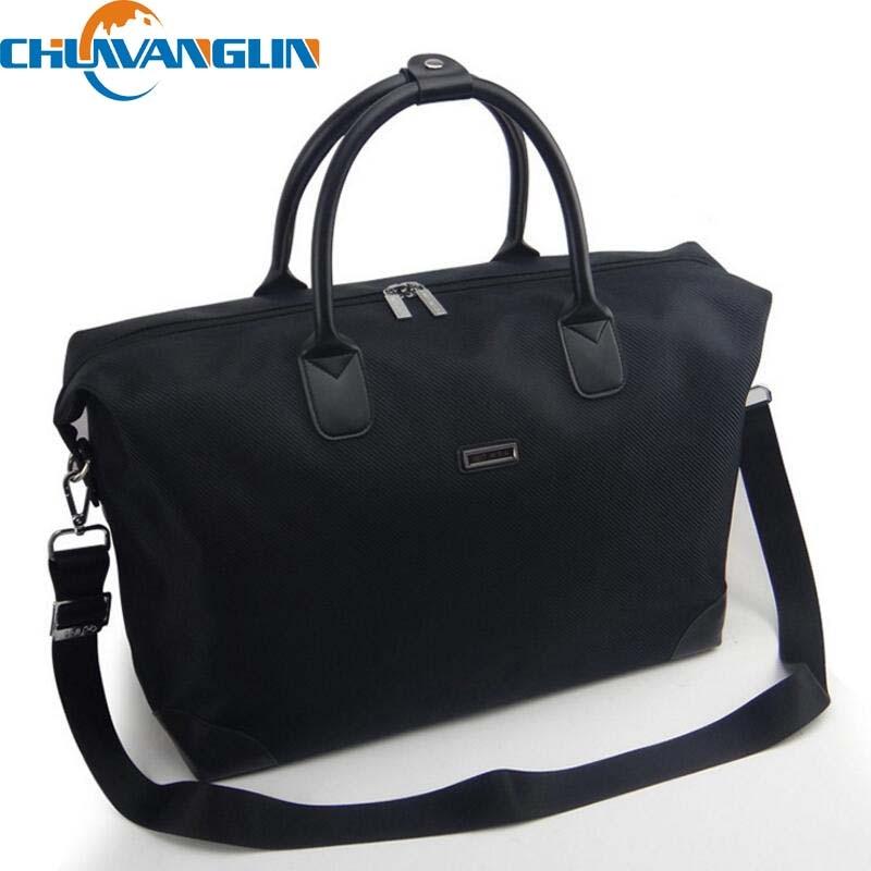 Chulin Waterproof Bag Women Duffel Travel Tote Oxford Jacquard Weekend Large Capacity Overnight