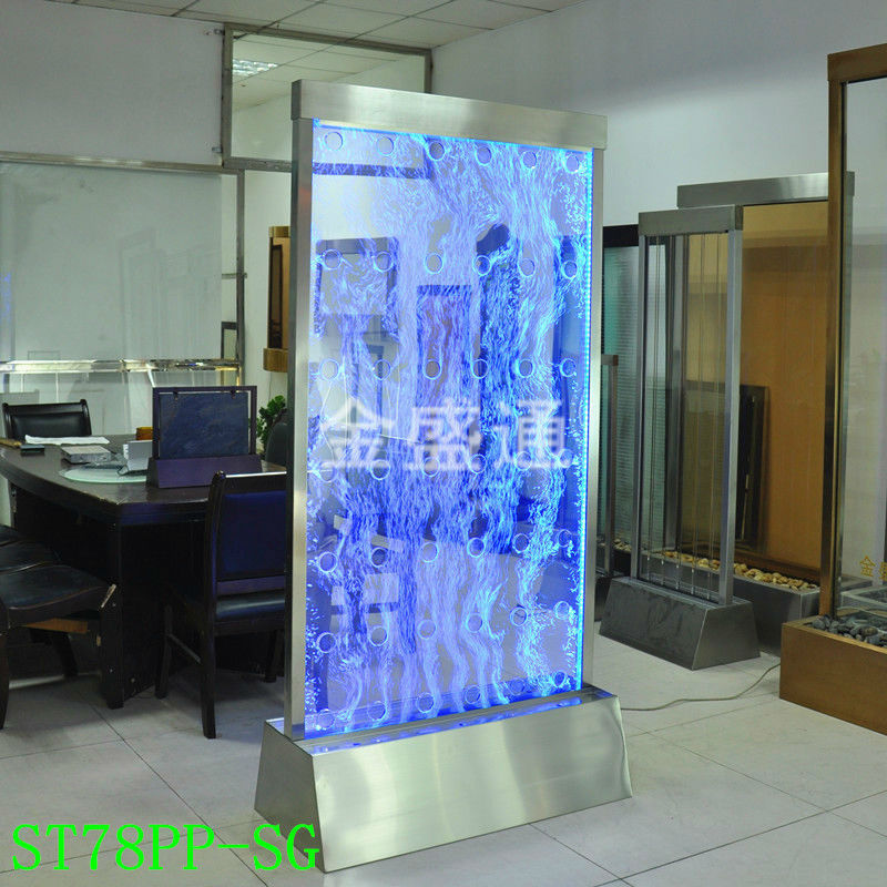 US $769 0 |KTV effect led light water bubble wall,panel wall divider,water  bubble Screen,Bubble Fountain-in Bar & Wine Cabinets from Furniture on