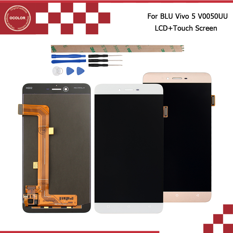 ocolor For BLU Vivo 5 V0050UU LCD Display and Touch Screen 5 5 inch Phone Accessories