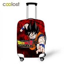 Dragon Ball чемодан защитные чехлы эластичный Saiyan Goku Vegeta багажный чехол для 18-32 дюймов Сумка для путешествий аксессуары для путешествий