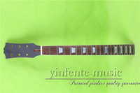 L 00127# black head 24.75 mahogany made unfinished Electric guitar neck rosewood fingerboard fine quality 22 fret