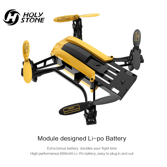 [EU USA Stock] Holy Stone Modular 2*3.7V 600mAh Lipo Battery and 2*USB Charging Cables for RC Quadcopter Drone HS150