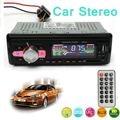 Unidade Central Radio In Dash Stereo Car Auto LCD Áudio 12 V DC USB SD FM MP3 Player AUX