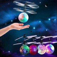 Mini RC Drone Vliegende RC Helicopter Vliegtuigen Dron Infrarood Inductie LED Licht Afstandsbediening Drone Dron Kinderen Kids Speelgoed DZ002