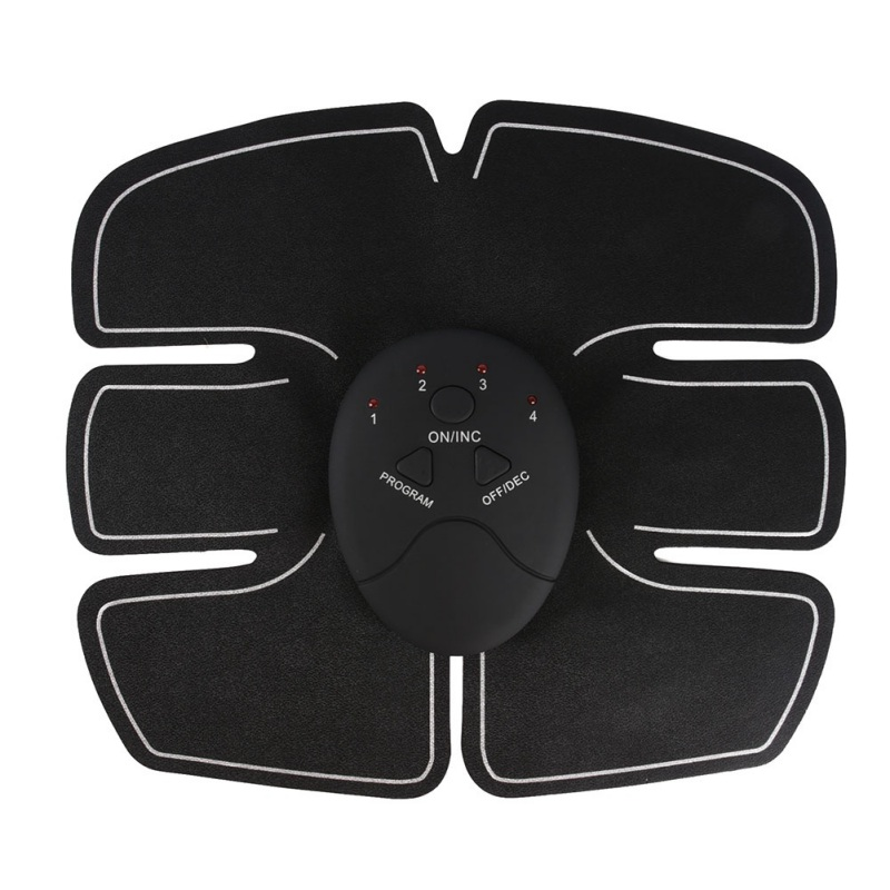 EMS Abdominal Trainer Battery Home Fitness Abdomen Instrument Muscle Trainer Abdominal Muscle Abdomen Abdominal Paste 2019