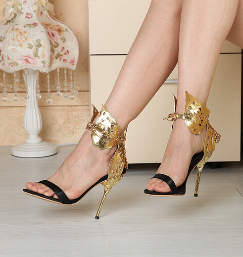 sandal heel Picture - More Detailed Picture about 2015 Women High ...