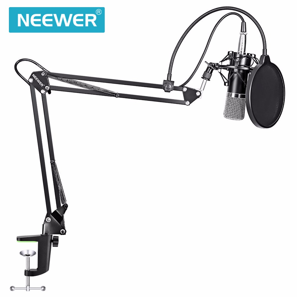 Neewer NW 700 Kit de Microphone à condensateur d'enregistrement de Studio professionnel avec support de Microphone et support de choc-in Microphones from Electronique    2