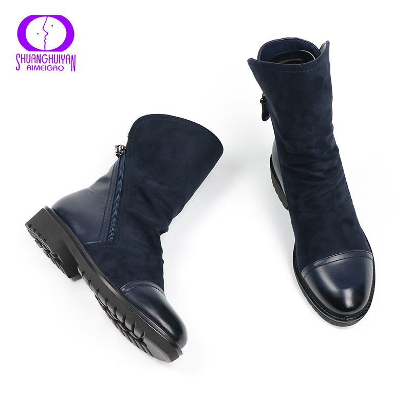 Online Get Cheap Blue Suede Boots -Aliexpress.com | Alibaba Group