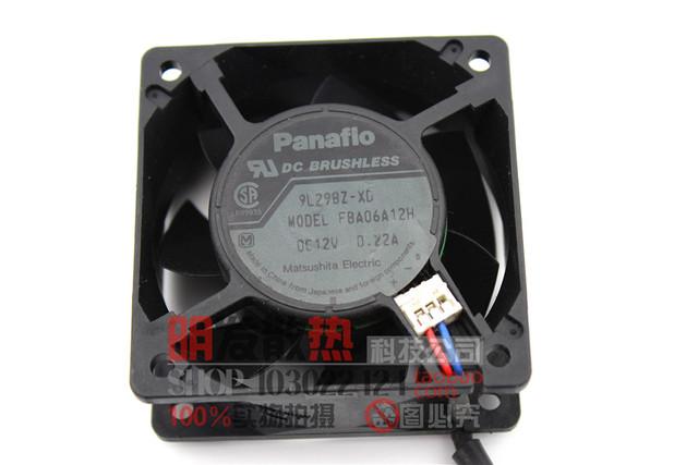 Original FBA06A12H 6025 0.22A 12 V chassis silencioso ventilador de refrigeração