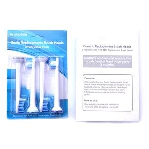 Image 4 - חדש P HX 6084 HX6084 סוניק מברשת שיניים החלפת ראשים אוראלי היגיינה נקי 400 יח\חבילה